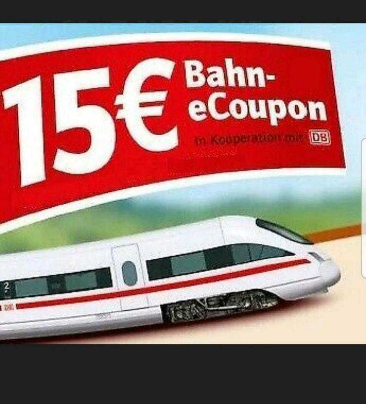 Deutsche Bahn Gutschein 15€ Wert/ Gültig 31.12.21
