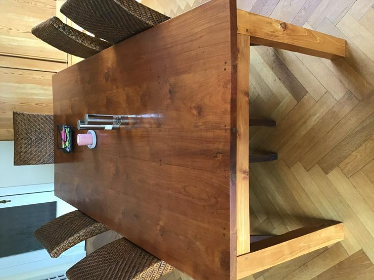 Rittertafel Teak Tisch Esstisch 210 cm