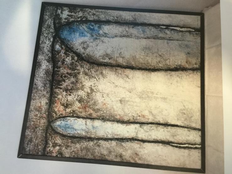 Gemälde Acryl von Sabine Becker, Thema Entschleunigung