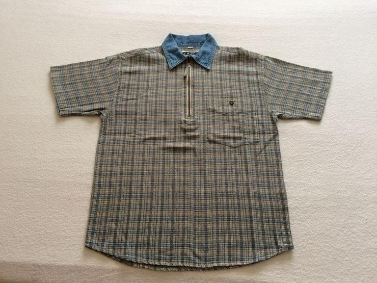 Hemd Gr. 140 mit Reißverschluss