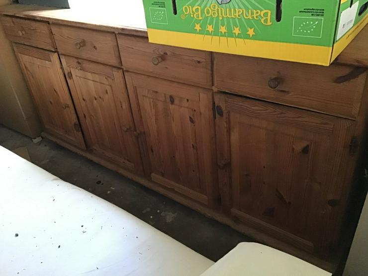 Sideboard Kiefer gelaugt und geölt