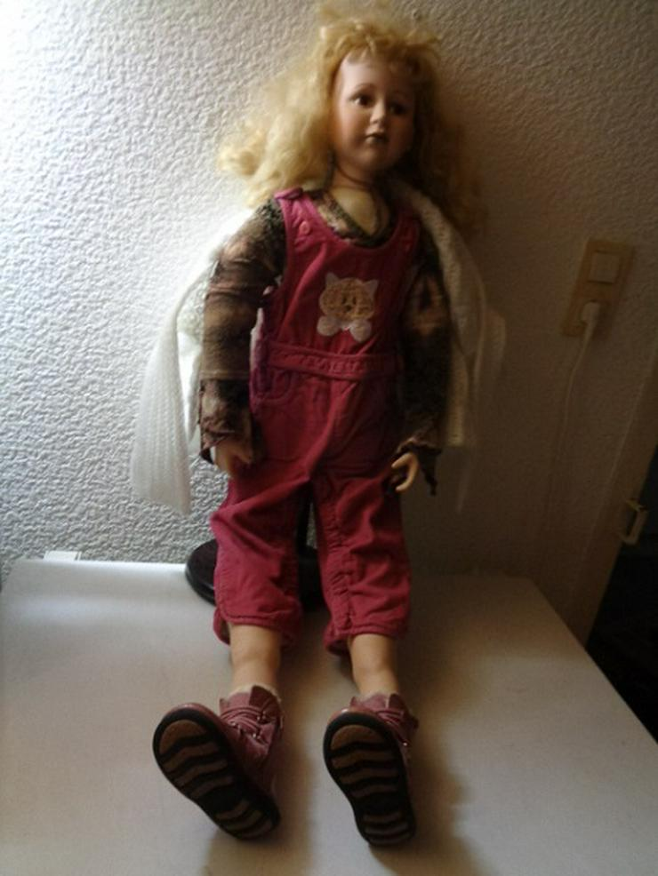 Sammler Puppe 1m Hoch gut Erhalten