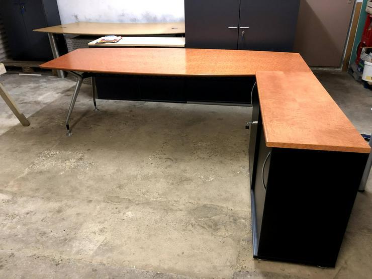 ‼️BÜROAUFLÖSUNG‼️Besprechungstisch/ Konferenztisch mit Sideboard || Einzelanfertigung‼️