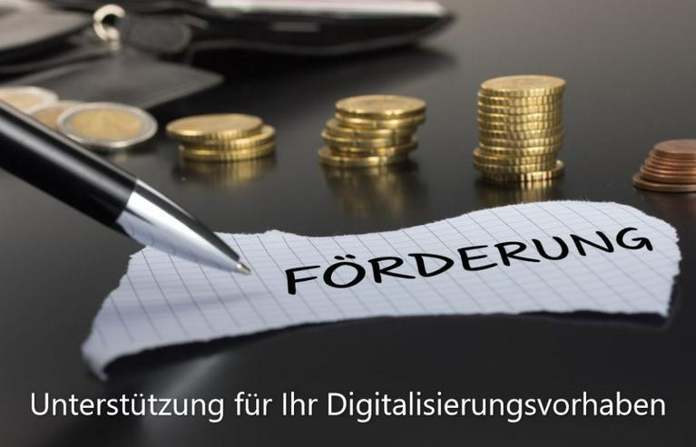 Förderung für Ihre Digitalisierung