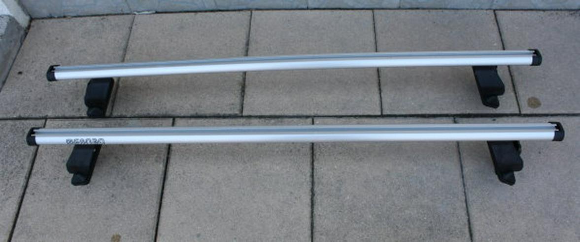 Bild 2: Menabo Tema Kia Rio UB Aluminium Dachträger Lastenträger Dachgepäckträger Querträger Fließheck Relingträger inkl. EBA