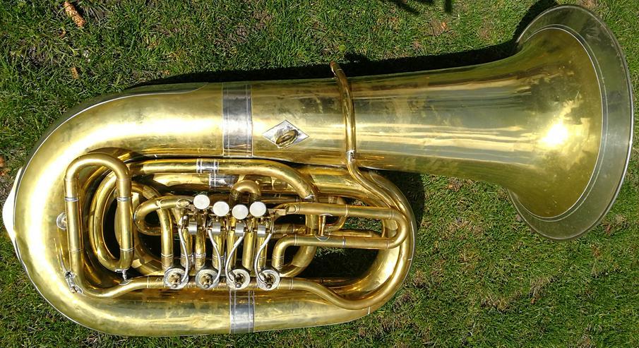6/4 B - Tuba Reisser Ulm (Markneukirchen)