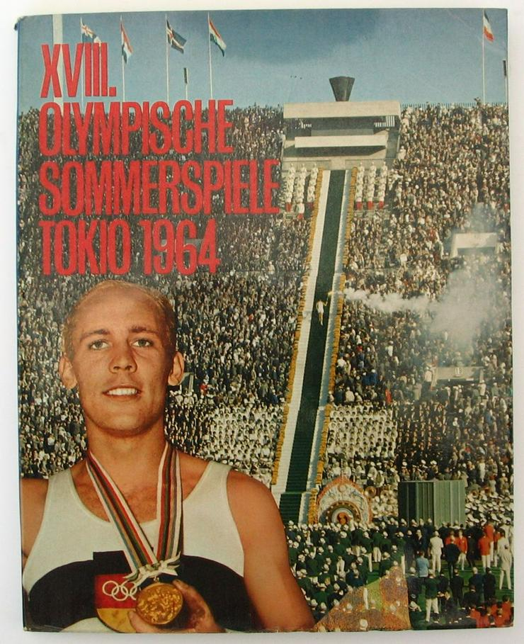 Olympiade 1964 Tokio Bildband XVIII