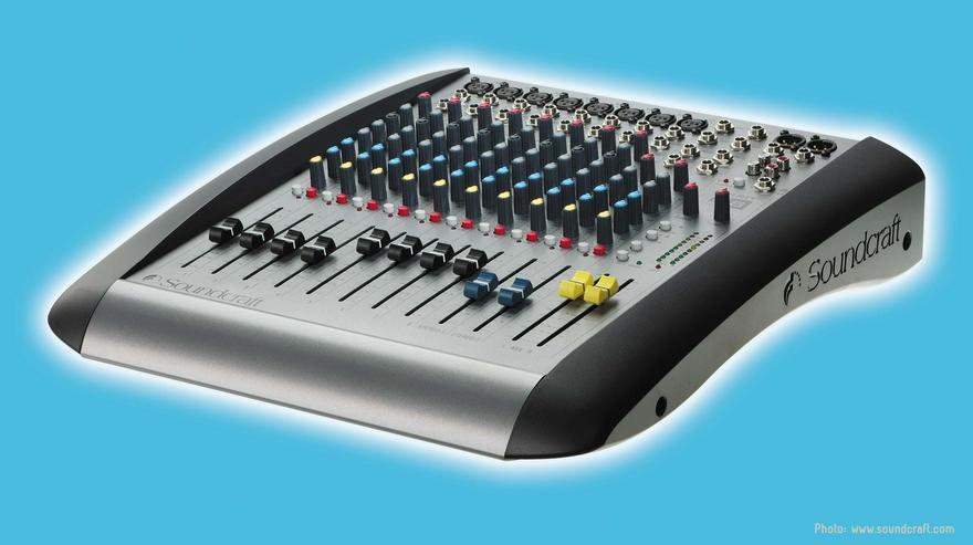 Verleih: Soundcraft Spirit E8 Mischpult mieten