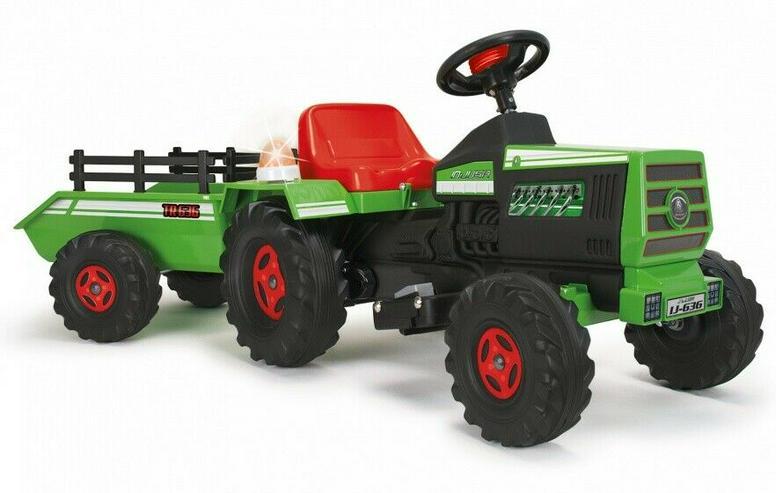 Kinder Elektro Trecker / Traktor – grün