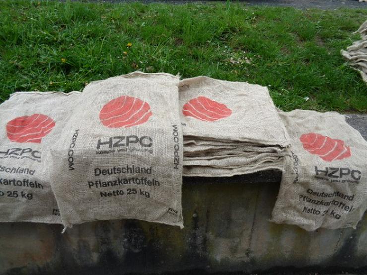 20 sehr gute Jutesäcke-Kartoffelsäcke 25kg