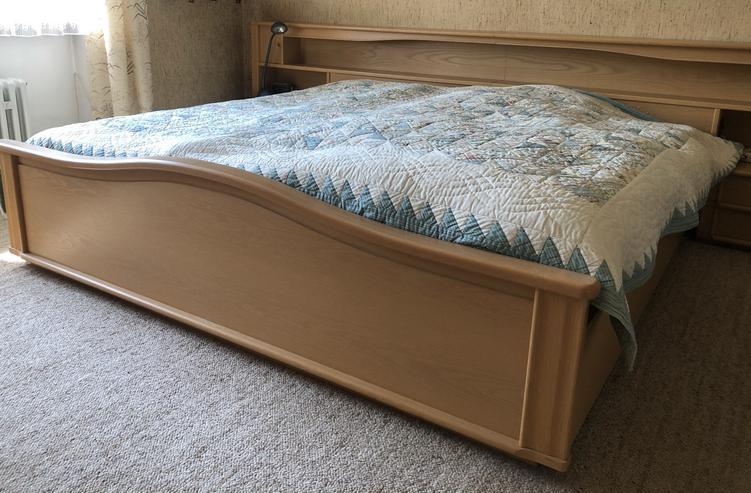 Schlafzimmerkombination Eiche natur, top erhalten aus 1. Hand