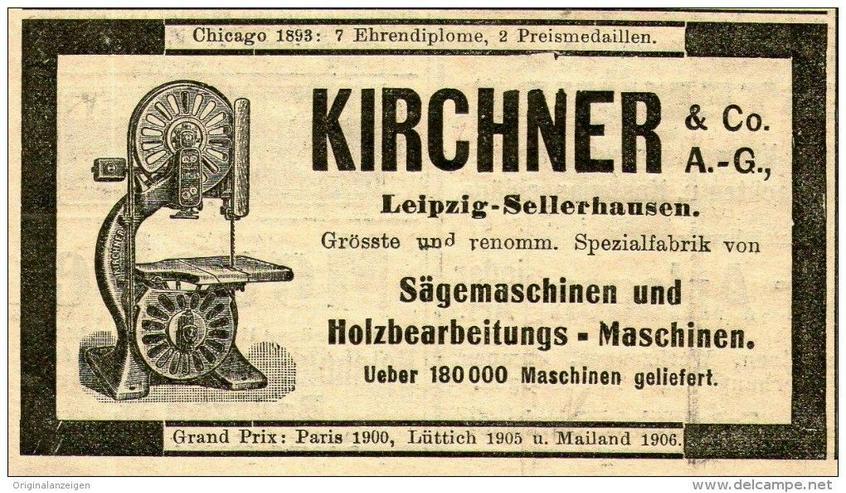 Kirchner bandsäge