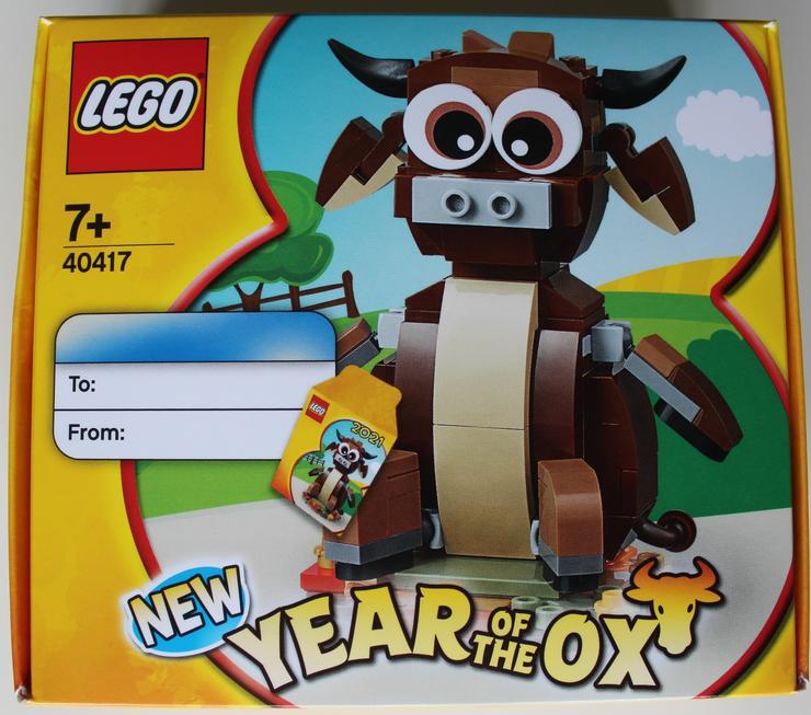 Lego 40417 Jahr des Büffels / Year of the Ox