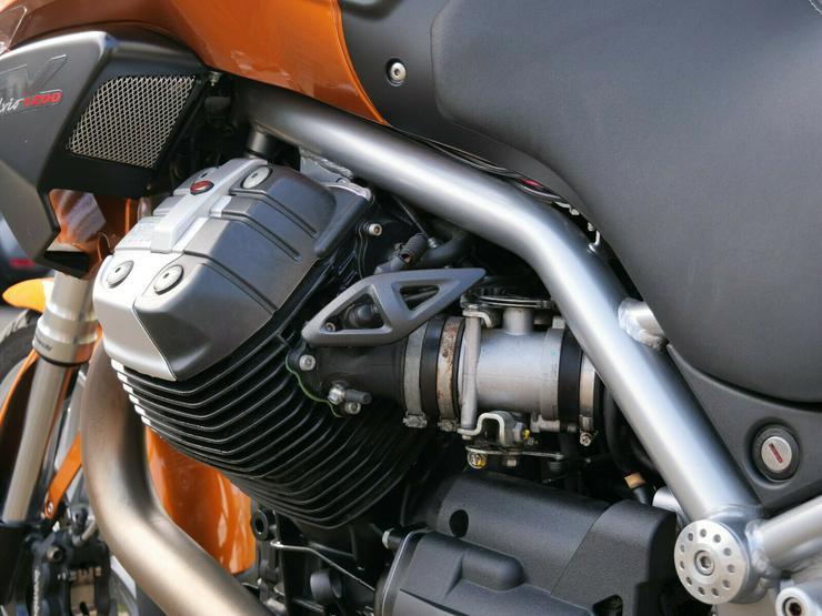 Bild 4: Moto Guzzi Stelvio 1200 8V