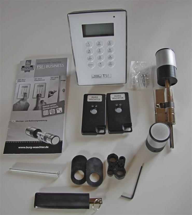 BurgWächter TSE 5011 Komplett-Set mit 2 E-Keys