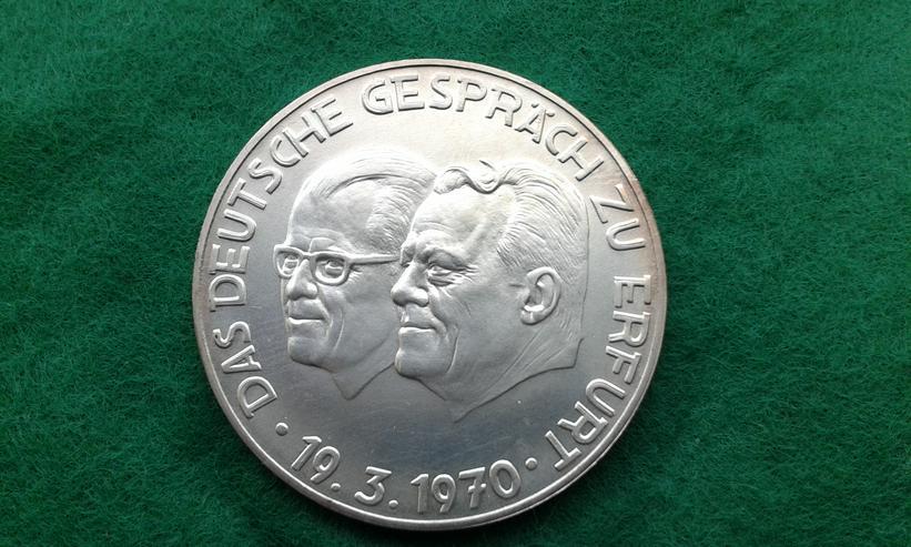 Historische Silber-Münze BRD / DDR