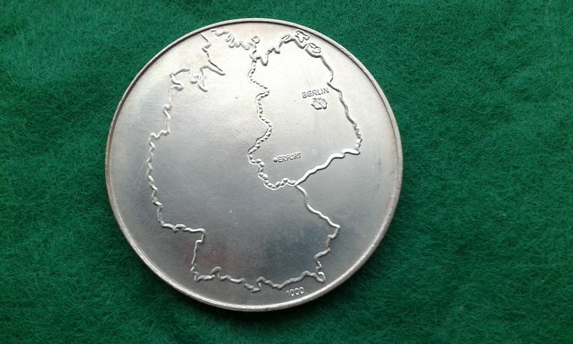 Bild 2: Historische Silber-Münze BRD / DDR
