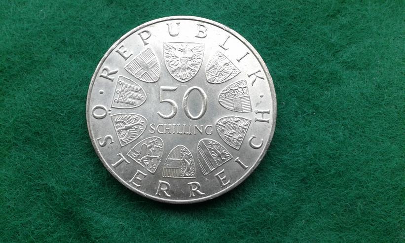 Bild 2: Silber-Münze Österreich
