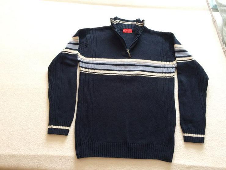 Pullover Gr. 44/46 neuwertig, dunkelblau