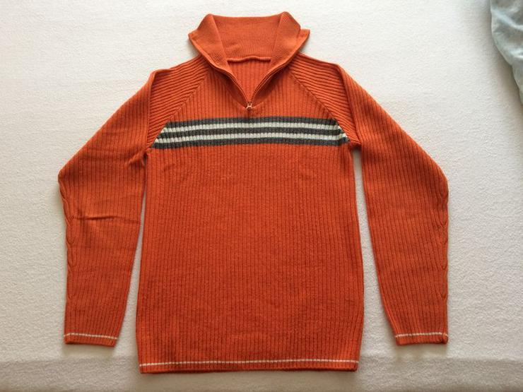 Pullover Gr. 44/46 orange, neuwertig
