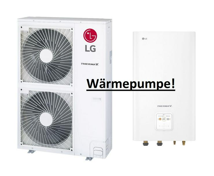 LG Therma V Set Split Luft-Wasser-Wärmepumpe R410A, 12 kW, TOP 1A