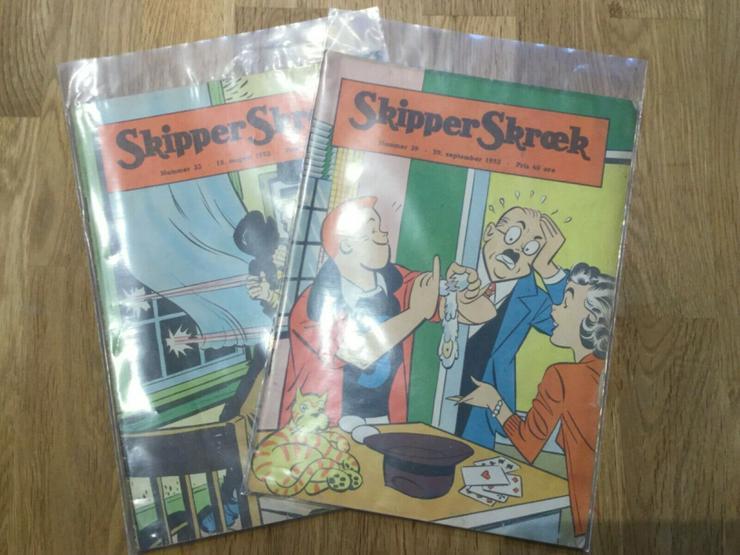 Skipper Skræk (Popeye) Konvolut - Comics - Bild 1