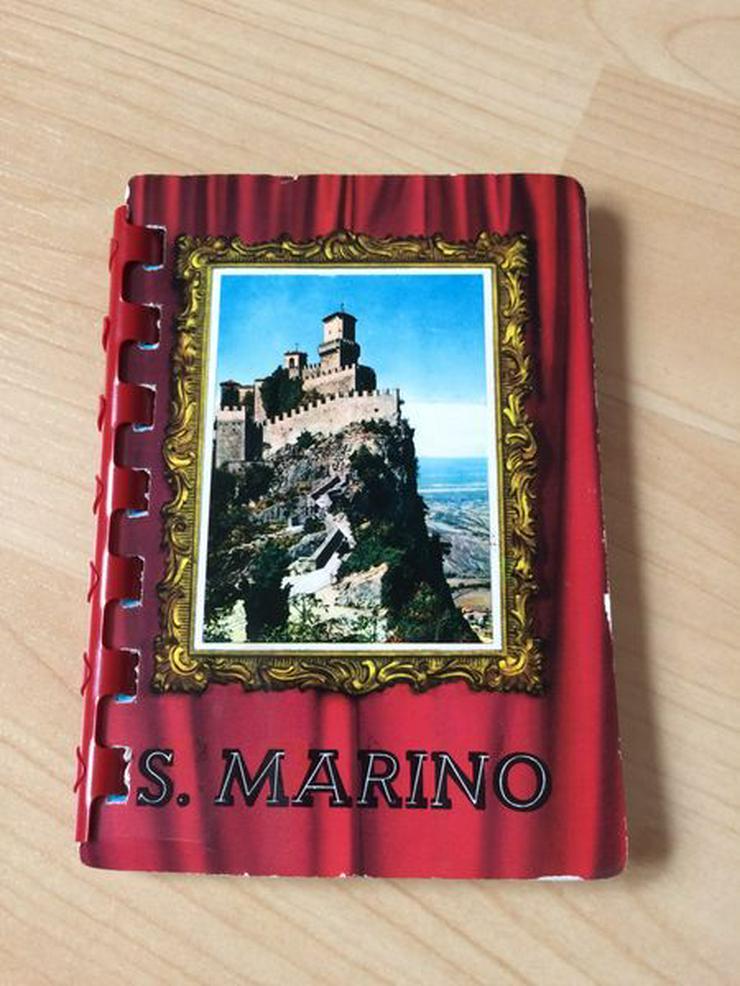 Fotobüchlein San Marino/Italien, 50/60er Jahre
