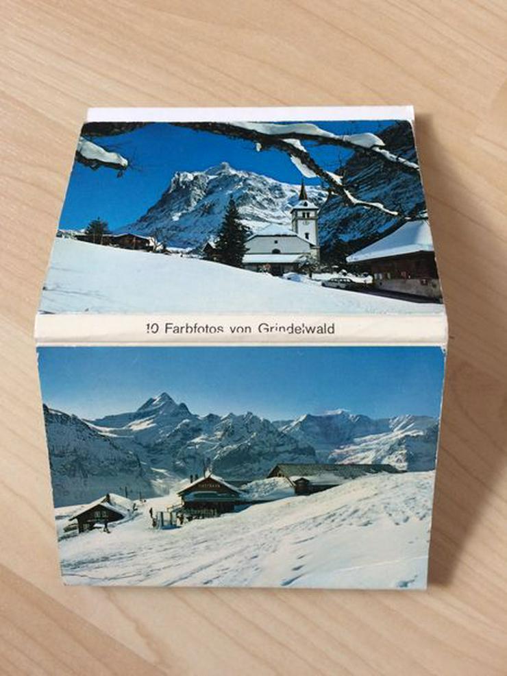 Leporello von Grindelwald/Schweiz, 70er Jahre
