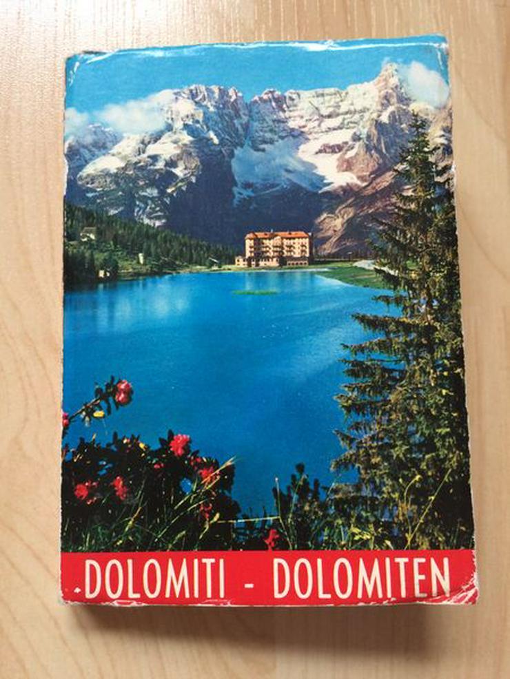 Leporello Dolomiten/Italien, 1950/60er Jahre