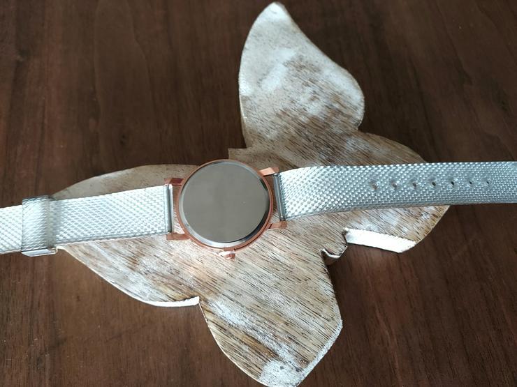 Bild 3: Damenuhr bronze Glitzer