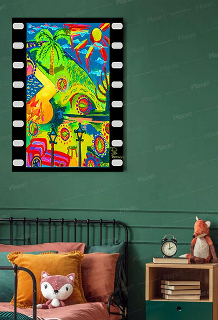 Pierce Brosnan Kunstdruck 45x30 cm. Souvenir. Geschenk. Andenken. Sammlerstück.