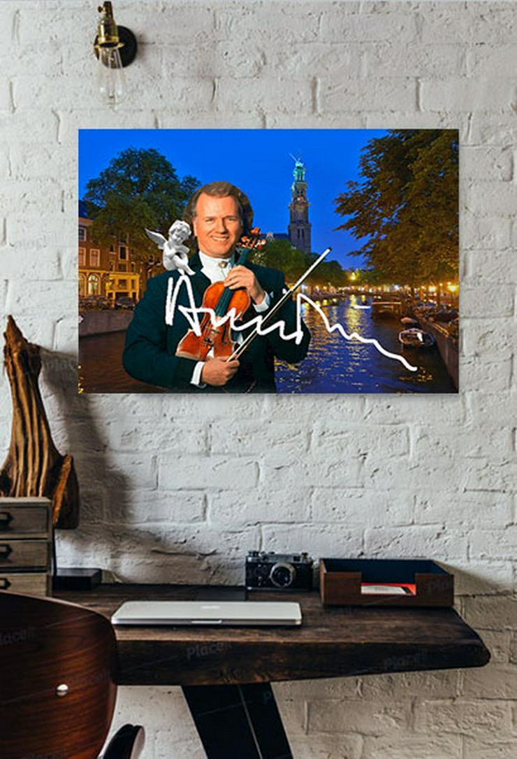 André Rieu Kunstdruck 45x30 cm. Souvenir.