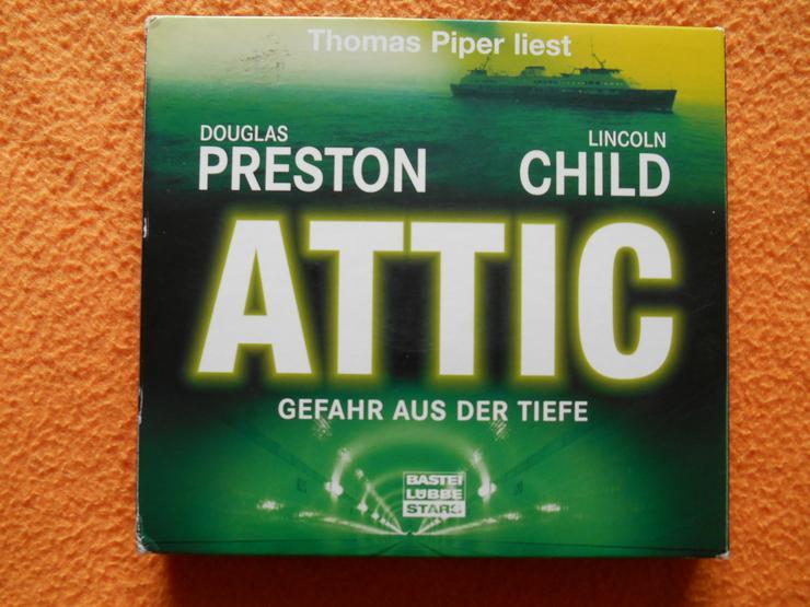 Hörbuch: ATTIC - Gefahr aus der Tiefe - Hörbücher - Bild 1