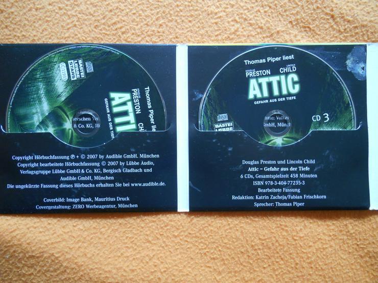 Bild 4: Hörbuch: ATTIC - Gefahr aus der Tiefe