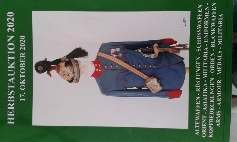 Bild 2: Auktionskataloge - Antiquitäten / Militaria / Waffen / Orden / Zeitgeschichte