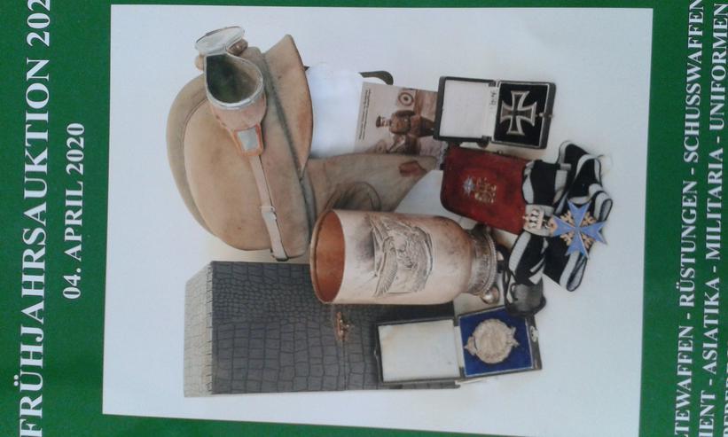 Auktionskataloge - Antiquitäten / Militaria / Waffen / Orden / Zeitgeschichte