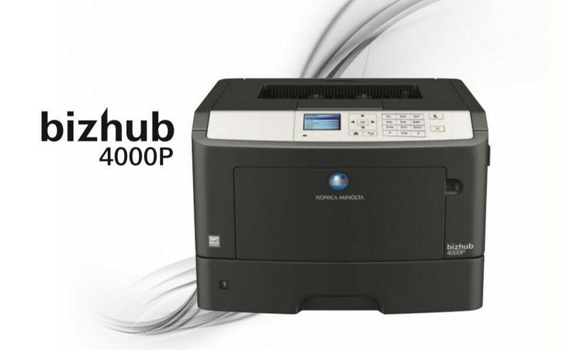 Konica Minolta Drucker Bizhub 4000p SW Laserdrucker mit DUPLEX+ USB+ Netzwerk