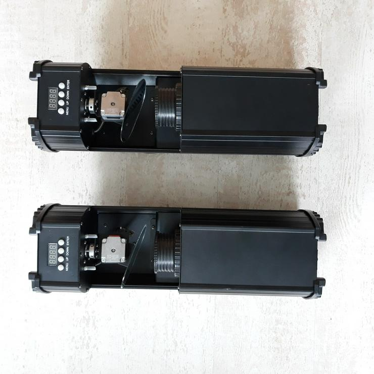 2 x LED Scanner Lightmaxx (DMX-Steuerbar, Sound, Standalone)