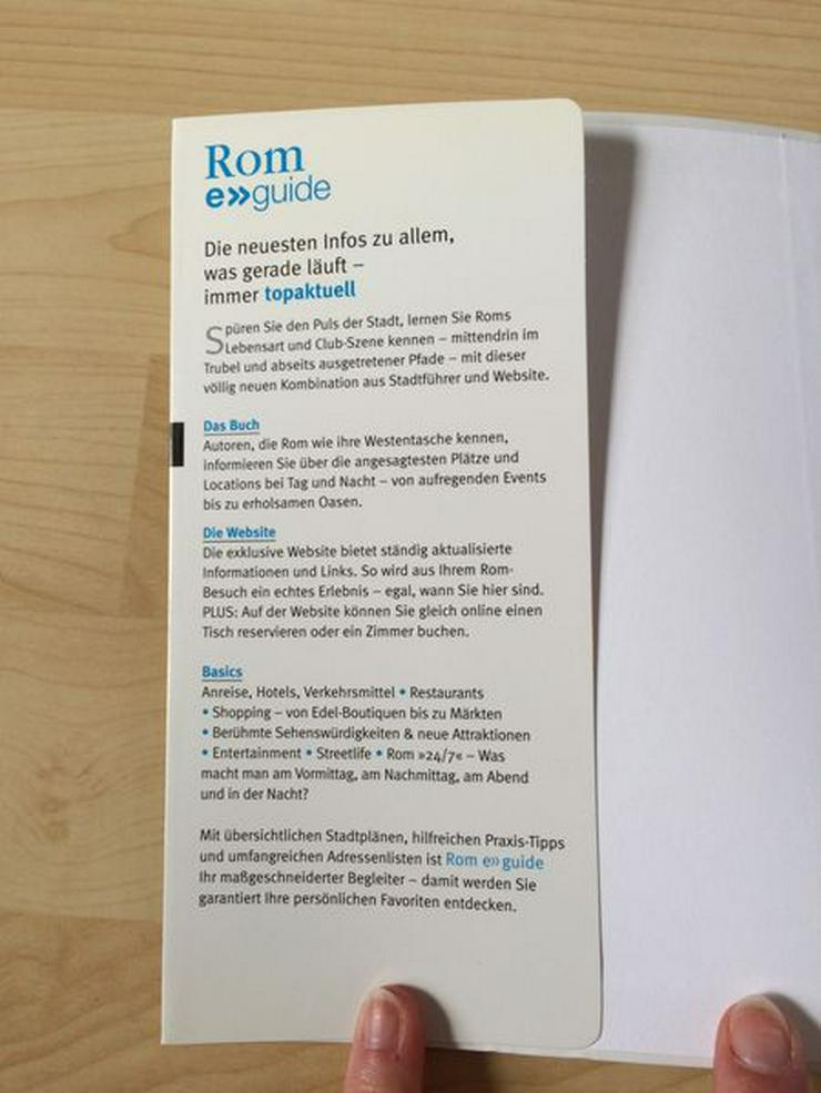 Bild 2: Buch Reiseführer Rom, UNBENUTZT