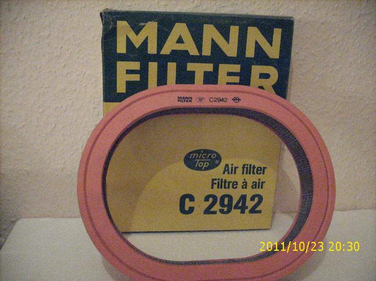 Luftfilter Mann & Hummel C2942