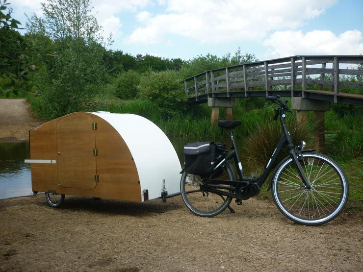 Bild 3: Fahrrad-Wohnwagen zu vermieten