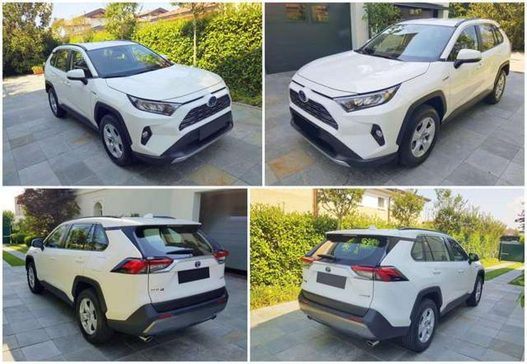 Toyota RAV 4 2,5 HV (218CV) E-CVT 2WD-Ausführung