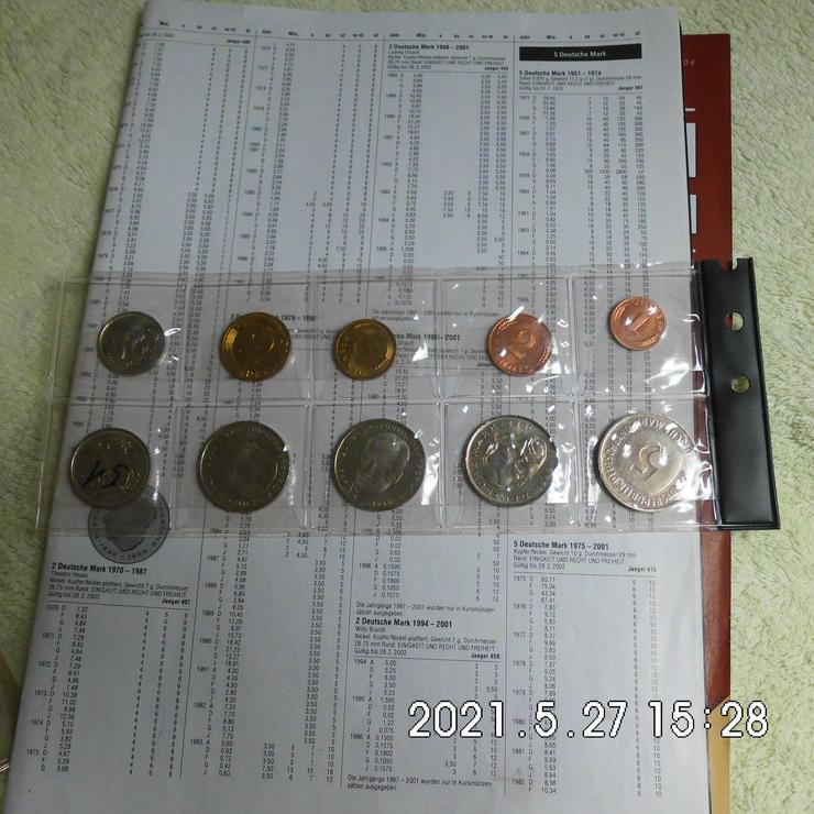 DM Kursmünzensatz 2001 F Stempelglanz
