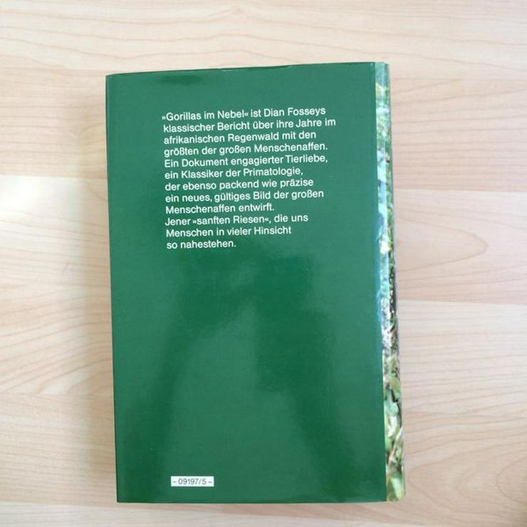Bild 14: Buch Gorillas im Nebel v. Dian Fossey