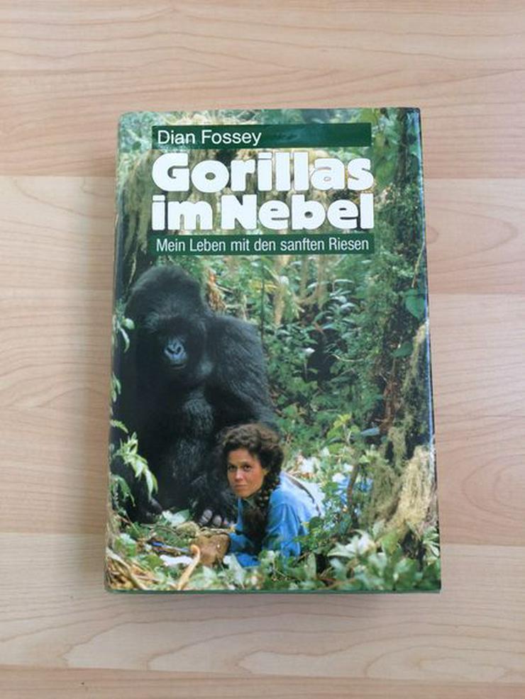 Bild 1: Buch Gorillas im Nebel v. Dian Fossey