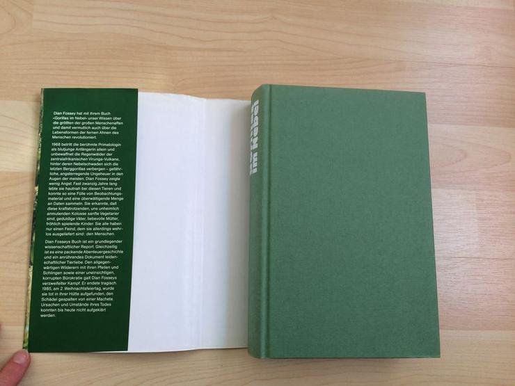 Bild 2: Buch Gorillas im Nebel v. Dian Fossey