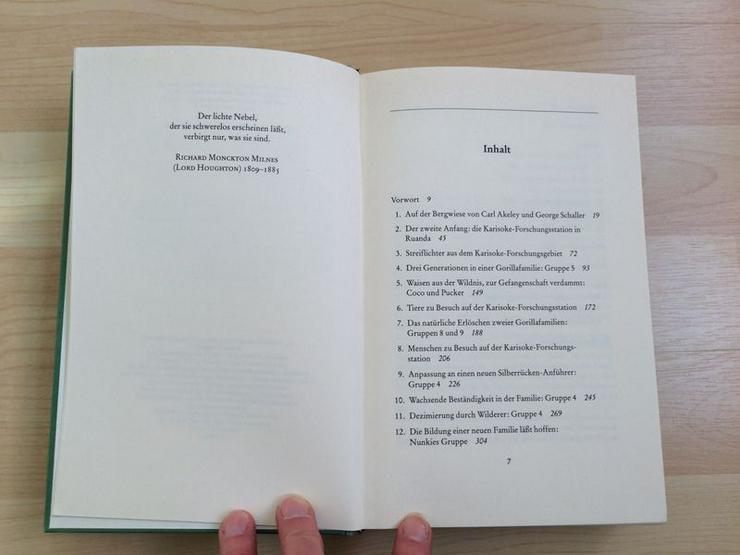 Bild 6: Buch Gorillas im Nebel v. Dian Fossey