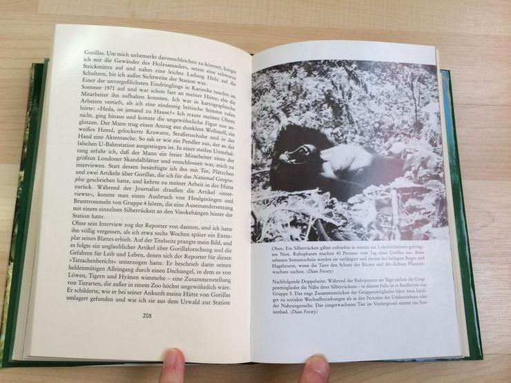 Bild 10: Buch Gorillas im Nebel v. Dian Fossey