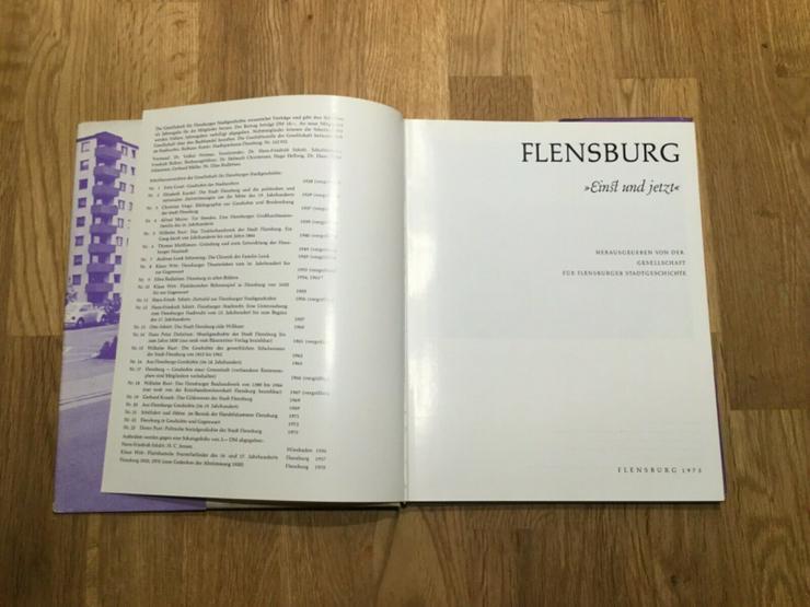 Bild 2: Flensburg - Einst und jetzt