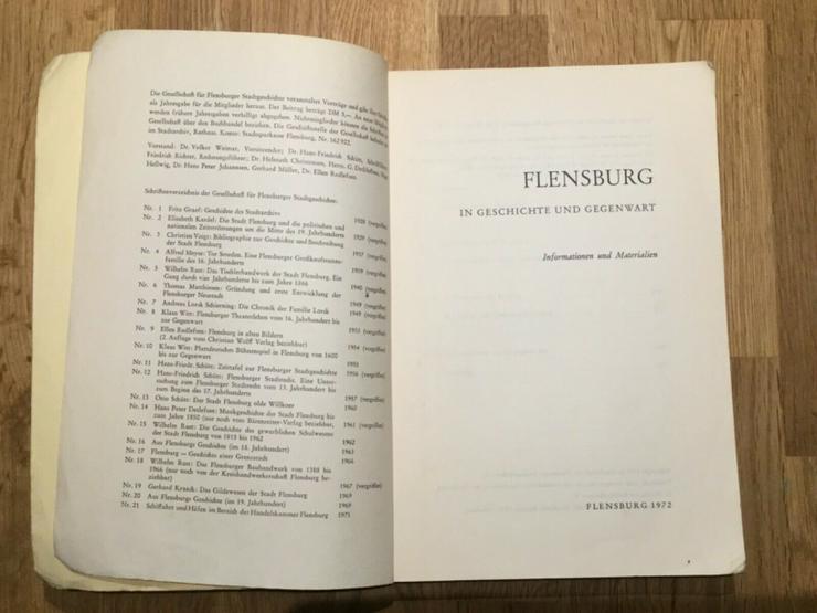 Bild 2: Flensburg - In Geschichte und Gegenwart